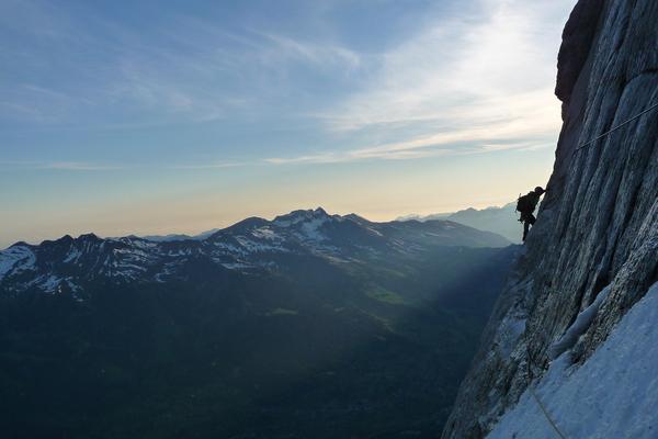 Eiger – Voie Heckmair