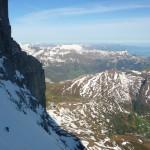 Eiger - Le grand névé avant le fer à repasser
