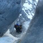 Eiger - Dernière longueur de la rampe