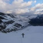 Piz Bernina - Avant le Labyrinthe