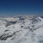 Piz Bernina - Vue vers l'Est