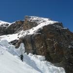 Piz Bernina - Le labyrinthe à la descente