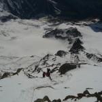 Mont Blanc - Voie normale - Non loin du refuge du Goûter