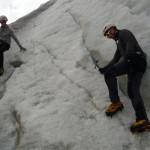 Ecole de glace - Torsion chevillesque
