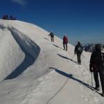 Dôme des Ecrins - Floriane nous guide jusqu'au sommet!