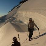 Dôme des Ecrins - Dans la zone des grosses crevasses