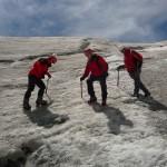Ecole de glace - L'équipe des rouges