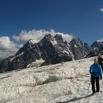 Ecole de glace - Les crevasses sournoisement cachées par la neige