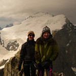 Roche Faurio - Au sommet devant la Barre