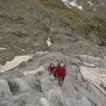 Ecole de glace - Départ vers les entrailles du Glacier
