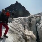 Ecole de glace - Quelques crevasses