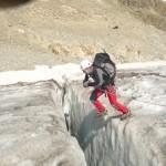 Ecole de glace - Le saut du cabri!