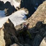 Roche Faurio - Court passage en rocher