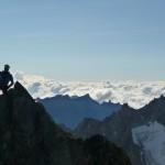 Roche Faurio - Guignol de haute Montagne dans son élément
