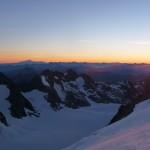 Dôme des Ecrins - Illumination matinale