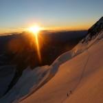Barre des Ecrins - Sunrise