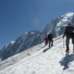 Glacier d'Argentière - Y sont pas beaux ces sommets?