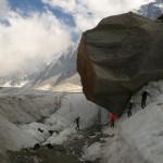 Glacier d'Argentière - Une école de glace insolite!