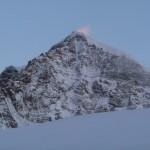 Mont Rose - Et le Lyskamm qui s'embrase