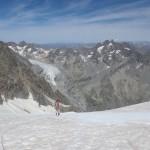 Pilier Kelle - Pelvoux - Passage en mode glaciaire
