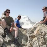 Pic du Glacier Blanc - Au sommet
