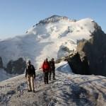 Roche Faurio - Avant la section rocheuse du haut