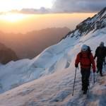 Dôme des Ecrins - En arrivant au sommet