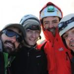 Dôme des Ecrins - L'équipe au sommet!