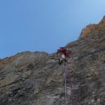 Tour Termier - Ponant neuf - Deuxième longueur
