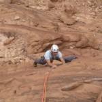 Jebel Rum - Inferno - A la sortie du crux