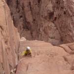 Wadi Rum - Lionheart - Le gaz arrive tout doucement