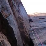 Wadi Rum - Cat Fish Corner - La mythiquesque deuxième longueur