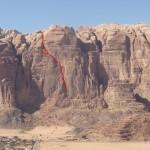 Wadi Rum - Inshallah factor - La ligne évidente