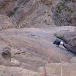 Wadi Rum - Aquarius - Le final, on rejoint la fissure de Mano Negra