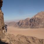 Wadi Rum - Inshallah factor - Dans les trav' faciles du haut