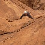Wadi Rum - Star of Abu Judaiah - Fred en finit avec la 3ème longueur