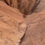 Wadi Rum - Star of Abu Judaiah - Un 6b ou la taquetique prime sur la tequenique