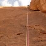 Wadi Rum - Star of Abu Judaiah - La dernière vue du bas