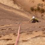 Barrah canyon - Barrah tribord toute - Flake land