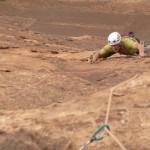 Barrah canyon - Barrah tribord toute - Quand la flake se fait réglette