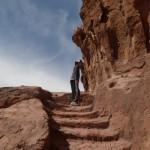 Petra - Les escaliers Nabatéens comme il y en a de partout!