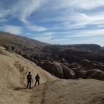 Petra - En redescendant du sommet