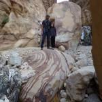 Petra - Retour par le wadi Ad-Muhdlim, un canyon hallucinant