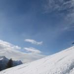 Hors piste Serre Chevalier - Une journée qui démarre bien pour Florian