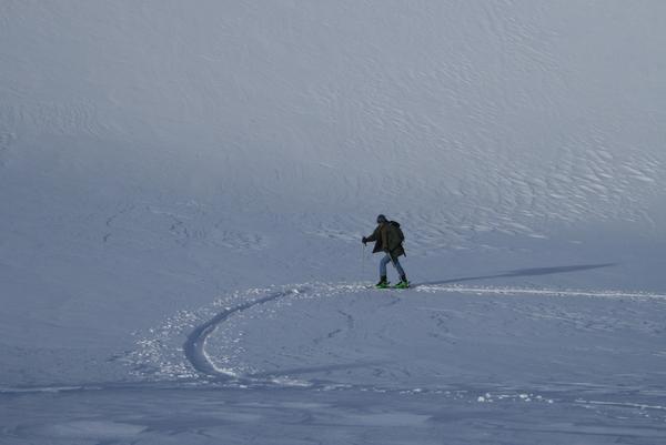 Le Pic Hauleur en ski de rando