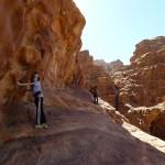 Rakabat canyon - Vers le passage en 1 expo