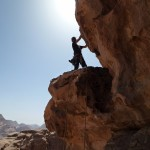 Bedan Majnoun - à la sortie de la Dalle aux Ibex