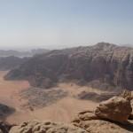 Bedan Majnoun - Du sommet, la vue sur Ramm