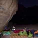 Barrah canyon - Au bivouac