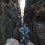 Iglakhat canyon - En haut du premier rappel